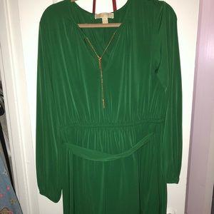 Emerald green MICHAEL KORS dress. Never worn